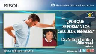 ¿Por qué se forman los cálculos renales?Dr.Nilton Toribio- Urólogo del Sisol- Radio Nuevo Tiempo thumbnail