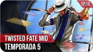 TWISTED FATE MID Temporada 5 [ GUIA S5 ] | EP.10 | El gitano de las cartas está roto!