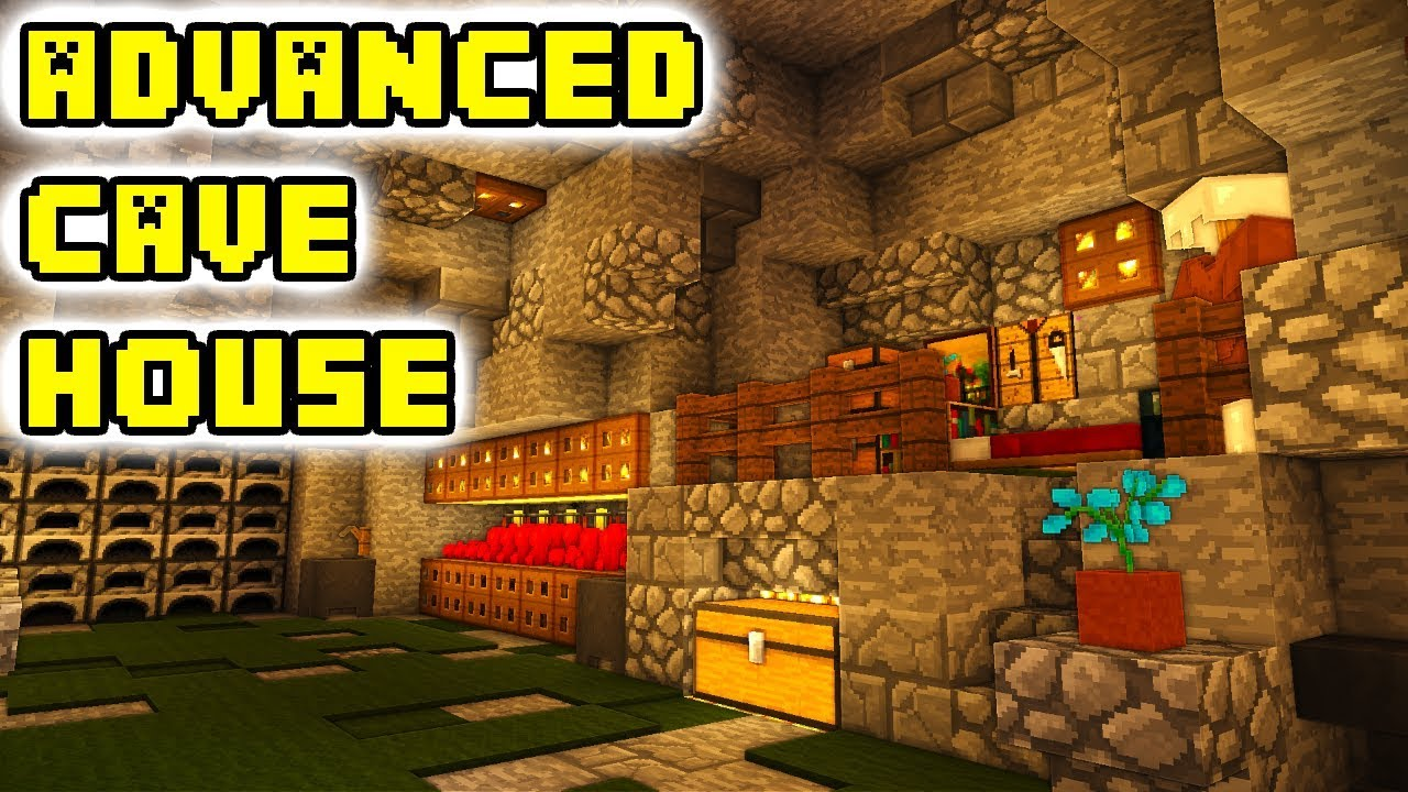 Minecraft Cave House Tutorial How To Build