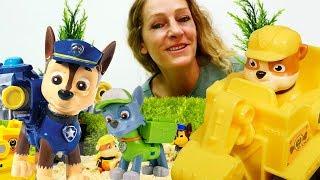Paw Patrol Video. Spielspaß mit Toys.