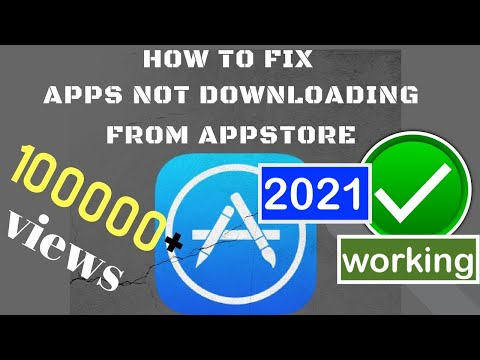 Apps Not Downloading From Appstore 2019 IOS 12, IOS 11 IPhone X IPhone Xs Max Iphone 7, 8plus, 6s 5s