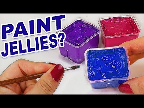 Not What I Expected!? Testing This Bizzare Jelly Paint...