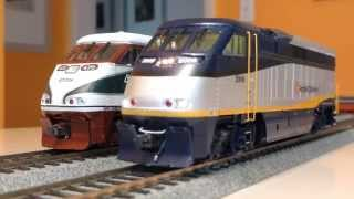 F59PHis of Amtrak California & Cascades, Loksound x Tsunami custom installs. Match up or Mash up