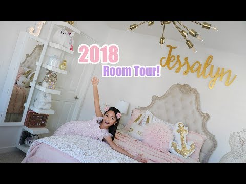 Jessalyn Grace's 2018 BEDROOM TOUR!!!