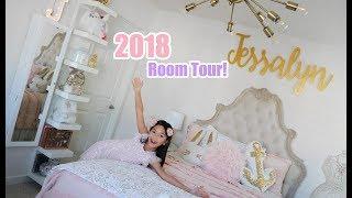 Jessalyn Grace's 2018 BEDROOM TOUR!!!
