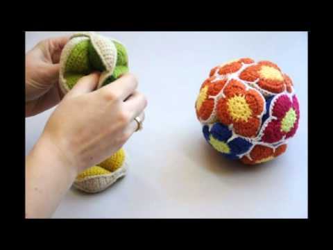 How To Assemble An Amish Puzzle Ball Youtube