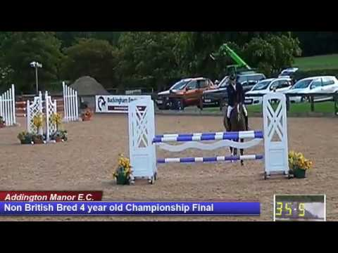 British Young Horse Showjumping Championships Non British 4YO Final - Saturday 19th August 2017