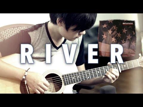 Eminem - River ft. Ed Sheeran (Fingerstyle Guitar Cover)