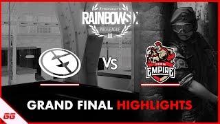 Evil Geniuses vs Team Empire | R6 Pro League S9 Finals Highlights
