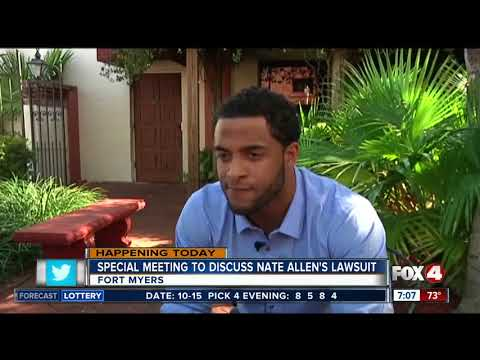 Special meeting to discuss Nate Allen's lawsuit in Fort Myers