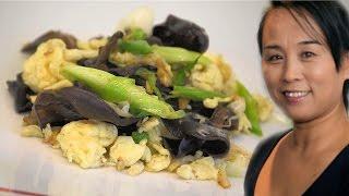 Chinese Mu Xu Egg Recipe (Chinese Vegetable & Egg Stir Fry Recipe)