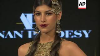 Pakistan's winter fashion week closes with bridal and couture standouts
