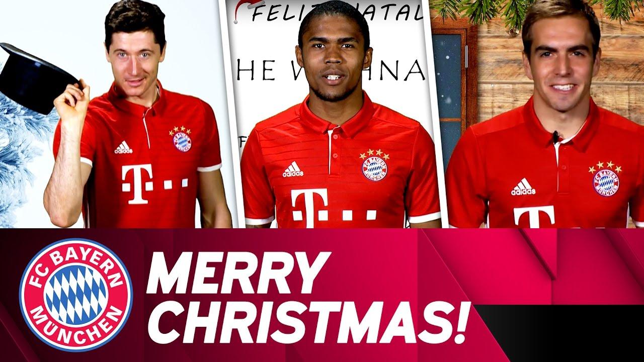 Fc Bayern Wünscht Frohe Weihnachten.Fc Bayern Christmas Song