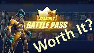Is Fortnite Season 7 Battle Pass Worth Buying?