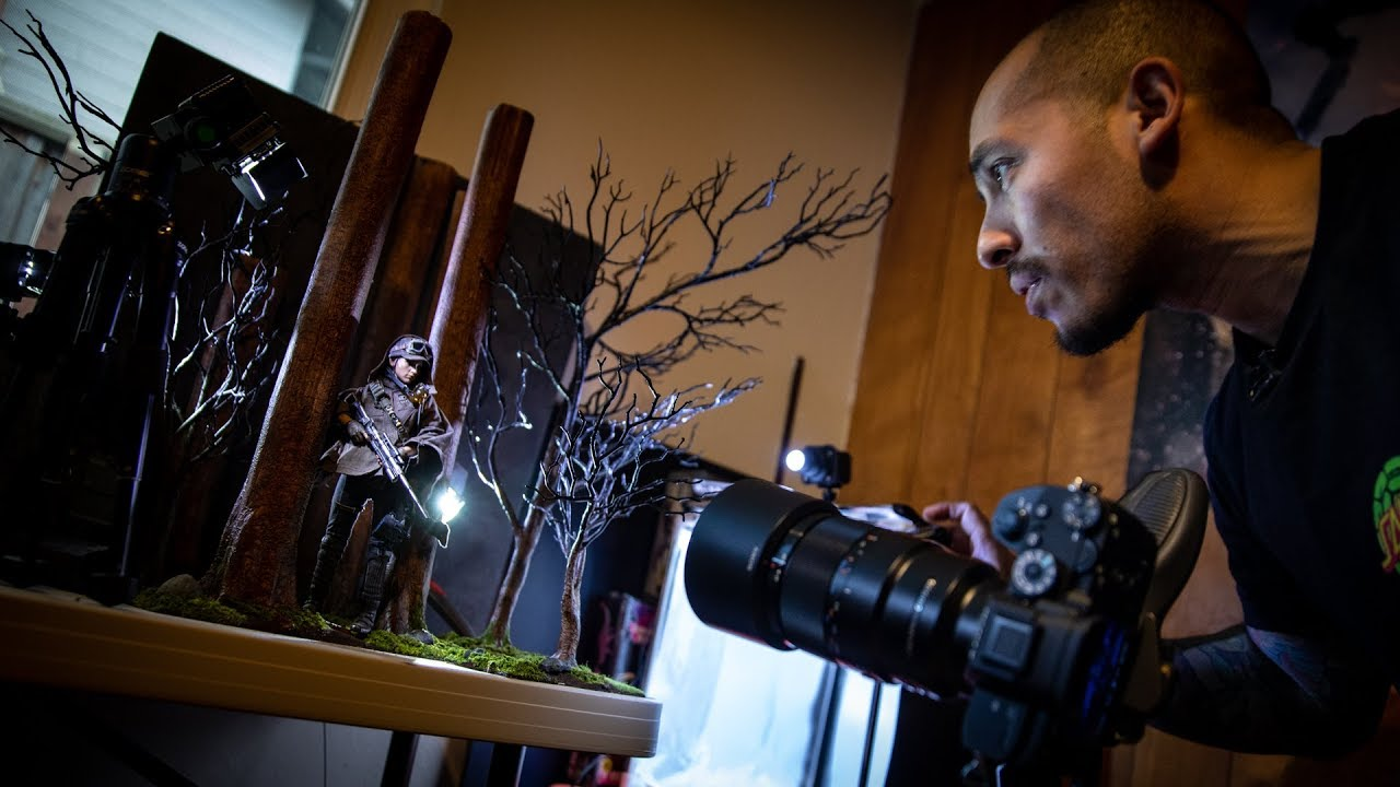 Practical Effects in Professional Toy Photography!