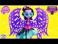 MY LITTLE PONY EQUESTRIA GIRLS Friendship Games MIDNIGHT SPARKLE Doll Review & EG APP SETC