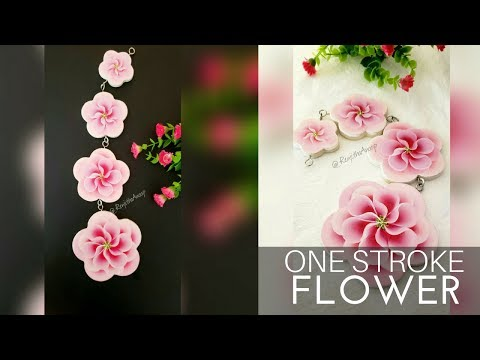 Acrylic Painting on Wood | Beginners Painting Ideas | One Stroke Painting On Wood | DIY