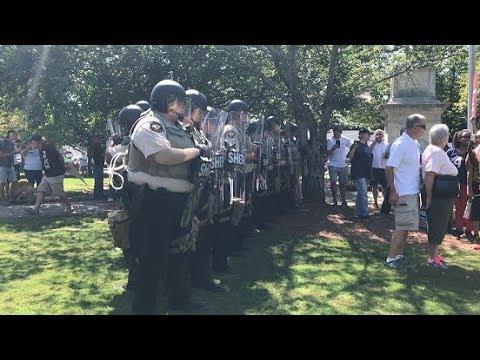 "Gainesville, GA ""Old Joe"" Statue Protest"