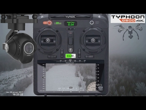 Typhoon Q500 4k 2017 first impression and review