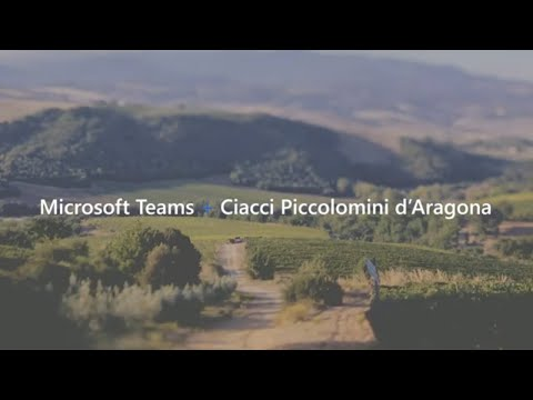 Microsoft Fireside Chat | Ciacci Winery Reimagines Wine Tasting Event