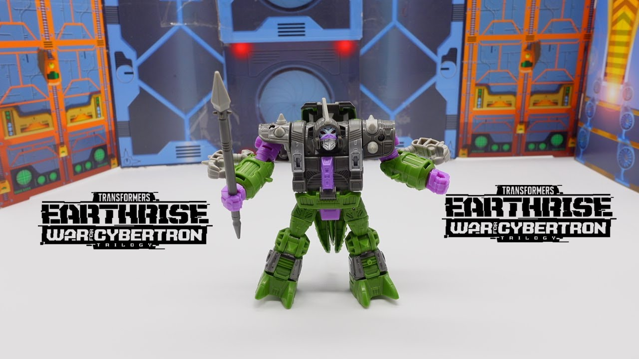 Transformers WFC Trilogy Earthrise Deluxe QUINTESSON Allicon Review By bvzxa3