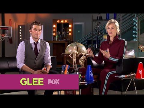 GLEE | Glee Lounge: Jane and Matt