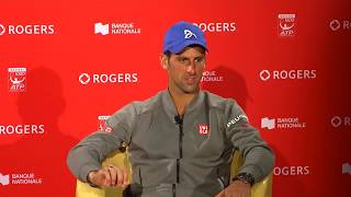 2015 Montreal: Novak Djokovic  (in Serbian). Izjava nakon Finala. ATP World Tour Masters 1000 Canada