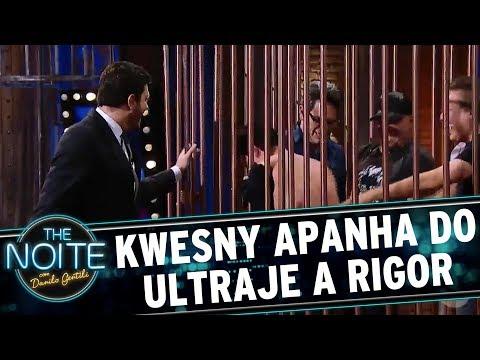 Kwesny apanha do Ultraje A Rigor   The Noite (18/08/17)