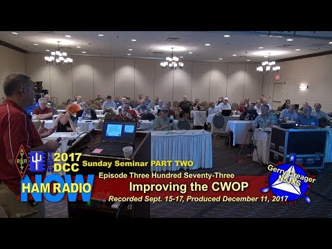 HRN 373: Improving the CWOP - the Sunday Seminar at the 2017 DCC on Ham Radio Now