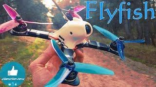 ✔ Сборка гоночного Квадракоптера на Раме GEPRC GEP-FX5 FlyFish Декабрь 2016!