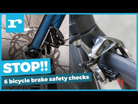 6 bicycle brake safety checks - stop faster with better braking thumbnail