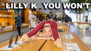 Dance Moms LILLY K vs. EPIC Acrobatic Gymnasts- You Won't Photo Challenge