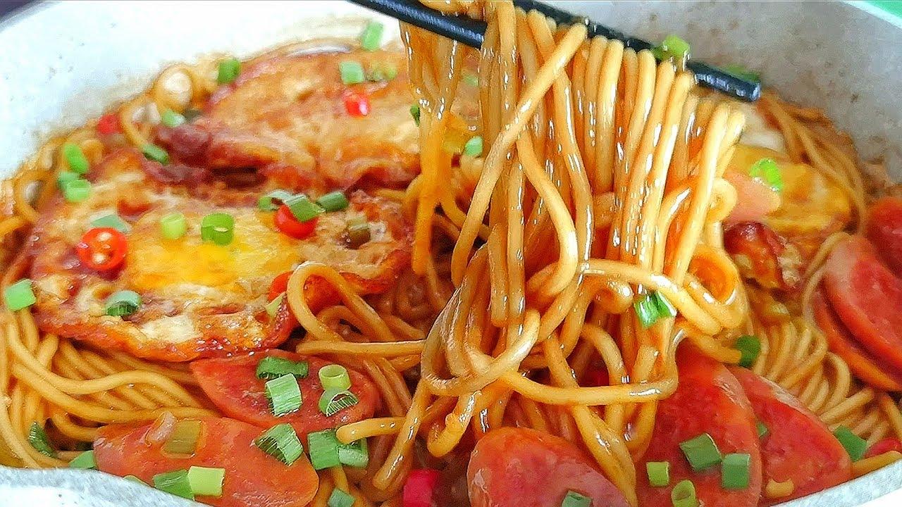 【小穎美食】麵條別直接煮著吃,加3個雞蛋,出鍋比吃肉還香,上桌瞬間掃光!