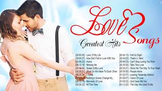 Greatest English Love Songs Playlist - Beautiful Love Songs Mellow Music Collection
