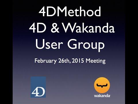 4DMethod #6 | Foundation Shell for 4D, Walt Nelson