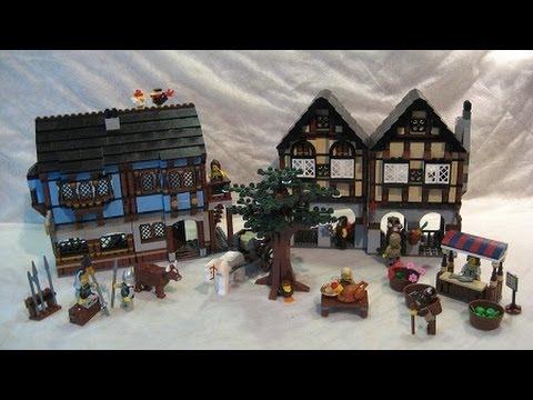 M4X's Creations - Building Lego Castle - 10193 Medieval Market ...