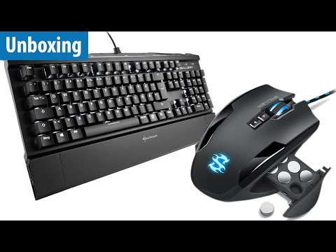 Günstige Gaming-Maus & -Tastatur - Sharkoon Skiller SGM1 & SGK1 | deutsch / german