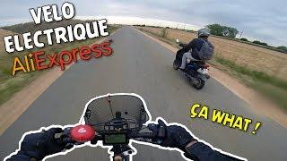 Vélo électrique AliExpress : je fume un scoot !!!