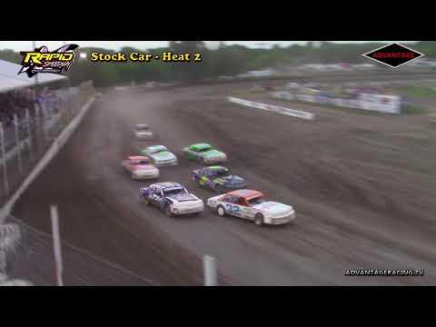 Stock Car Heats - Rapid Speedway - 6/1/18