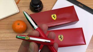 Sheaffer Ferrari Taranis Fountain Pen Unboxing and Writing Sample