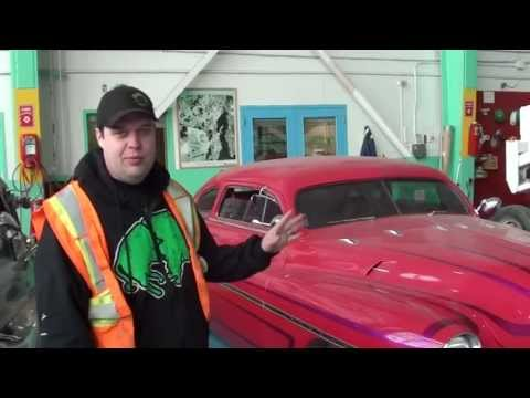 Mikey McBryan From Ice Pilots gives a Tour of Buffalo Airways Hanger in Yellowkinfe NWT