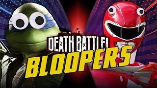 Leonardo VS Red Ranger Jason BLOOPERS!