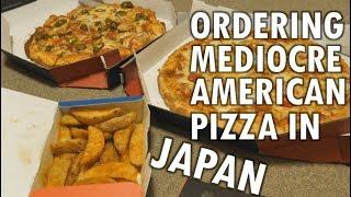 Ordering Domino's pizza delivery in Japan