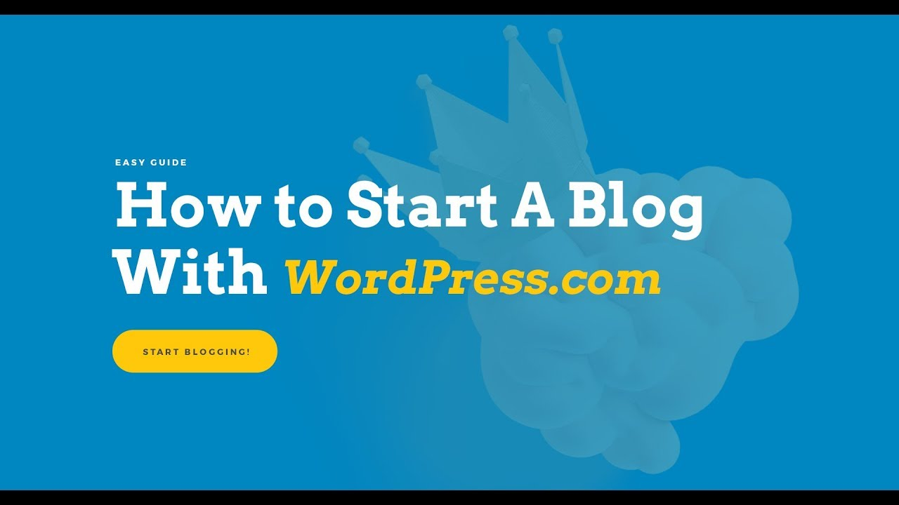 How to Start A Blog With WordPress.com — FREE!