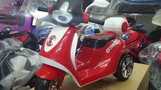 BRAND new kids ride on electric toy car and bike at wholesale prices in Chennai call 74l8328975