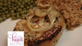 Lemon Garlic Pork Chops | I Heart Recipes
