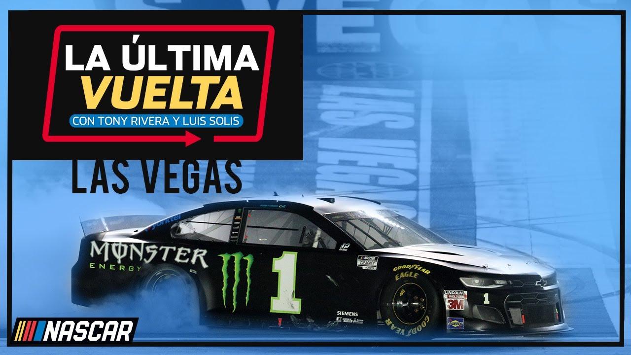 Resumen de la carrera en Las Vegas Motor Speedway