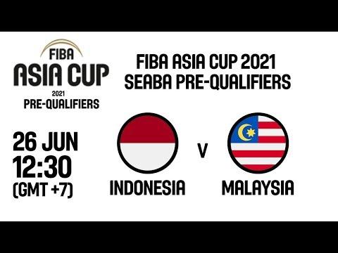 Indonesia V Malaysia Fiba Asia Cup 2021 Seaba Pre Qualifiers