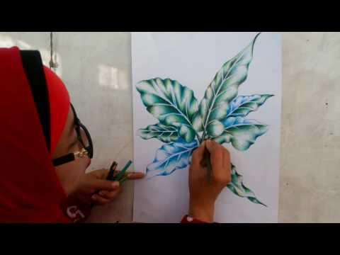 Full Download Batik Teknik Dan Cara Mewarnai Dengan Pensil Warna