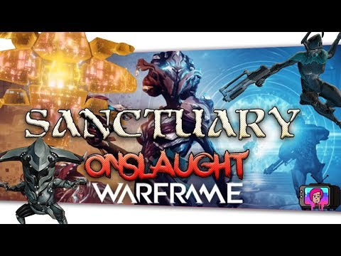 "🔴 Warframe ""Sanctuary Onslaught"" New Survival Mode"